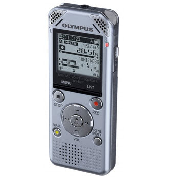 Olympus WS-801 Recorder W-Battery (Silver)