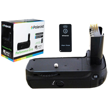 Polaroid Wireless Performance Battery Grip for Nikon D80, D90 Cameras