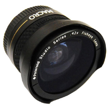 Polaroid 37mm .42x High Definition Fisheye Lens with Macro Attachment