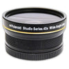 Polaroid Studio Series 52mm .43x High Definition Wide Angle Lens