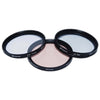 Polaroid 58mm 3 Piece Special Effect Camera-Camcorder Lens Filter Set