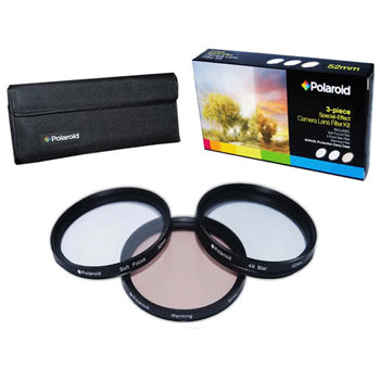 Polaroid 67mm 3 Piece Special Effect Camera-Camcorder Lens Filter Set