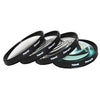 Polaroid 62mm 4 Piece Macro Filter Set (+1, +2, +4, +10 Diopters)