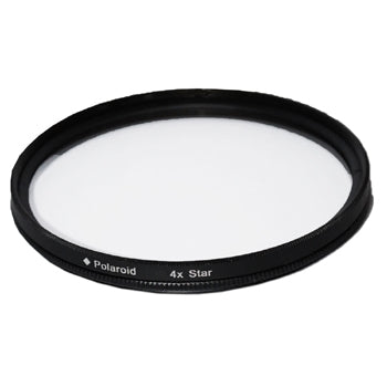 Polaroid Optics 72mm Rotating 4 Point Star Camera Lens Filter