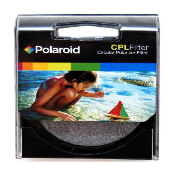 Polaroid Optics 77mm CPL Circular Polarizer Camera Lens Filter