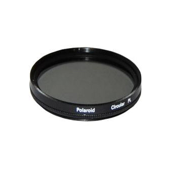 Polaroid Optics 37mm CPL Circular Polarizer Camera Lens Filter