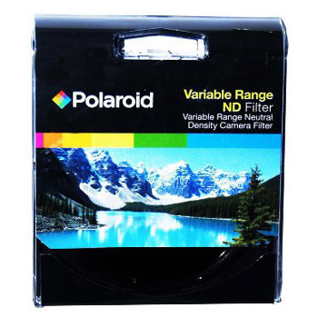 Polaroid Optics 49mm Variable Range Neutral Density Fader Lens Filter