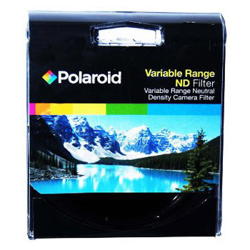 Polaroid Optics 52mm Variable Range Neutral Density Fader Lens Filter