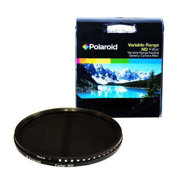 Polaroid Optics 82mm Variable Range Neutral Density Fader Lens Filter