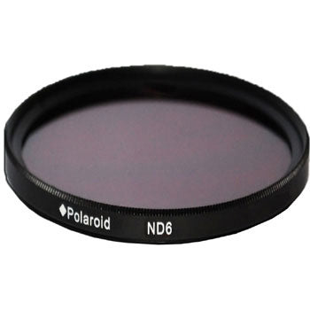 Polaroid Optics 52mm ND 0.6 ND6 Neutral Density Lens Filter