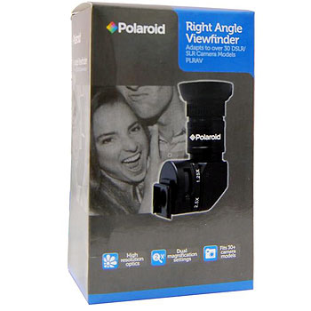 Polaroid 1X-2.5X Right Angle Viewfinder for DSLR Cameras
