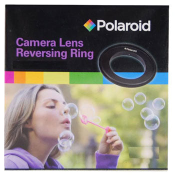 Polaroid 52mm Thread Lens Macro Reverse Ring Mount Adapter for Nikon