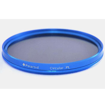 Polaroid Optics 52mm Multi-Coated Dual Filter Kit BLUE (MC UV, CPL)