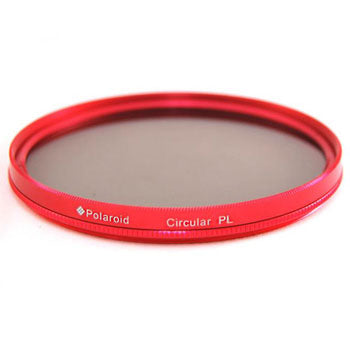 Polaroid Optics 72mm Multi-Coated Dual Filter Kit RED (MC UV, CPL)
