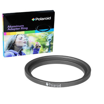 Polaroid Step-Up Aluminum Adapter Ring 49mm Lens To 58mm Filter Size