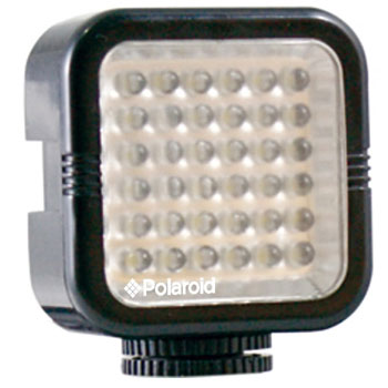 Polaroid Rechargeable 36 LED Light for Camcorder Camera