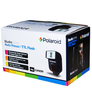 Polaroid PL-108AF Auto Focus-TTL Shoe Mount Flash for Sony-Minolta