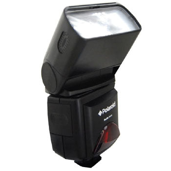 Polaroid PL-126PZ TTL Shoe Mount Bounce Flash for Canon Cameras