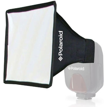 "Polaroid Universal Studio Soft Box Flash Diffuser (7"" x 6"" Screen)"