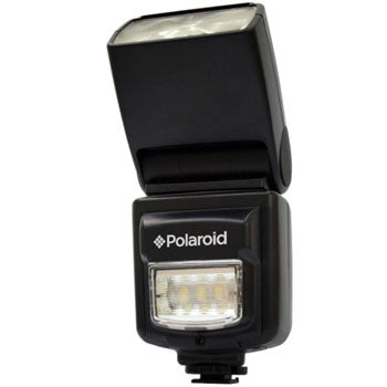 Polaroid PL-150DC Bounce Dual Flash with LED Video Light for Canon