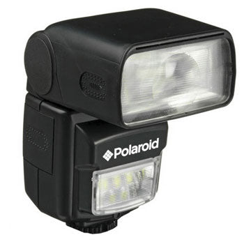 Polaroid Bounce Flash + Built In LED Video Light for Pentax Cameras