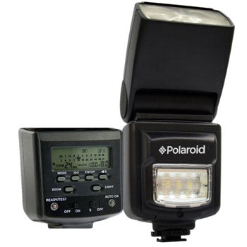 Polaroid Power Zoom Flash with Built In LED Light for Canon