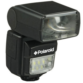 Polaroid PL-160DP Dual Flash with Built In LED Video Light for Pentax