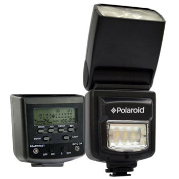 "Polaroid Studio Series TTL ""Dual"" Flash with Built In LED Video Light"