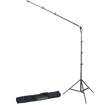 Polaroid Pro Studio 8 Air-Cushioned Heavy Duty Light Stand with Case