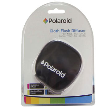 Polaroid Universal Cloth Flash Diffuser for All External Flash Units