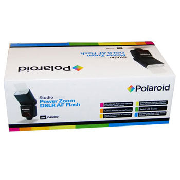 Polaroid PL-144AZ Power Zoom TTL Flash for Nikon DSLR Cameras