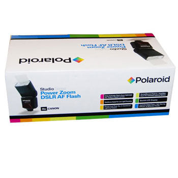 Polaroid PL-144AZ Power Zoom TTL AF Flash with LCD for Olympus & Panasonic DSLR