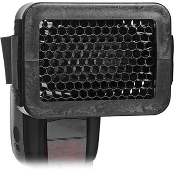 Polaroid 1-4-in Universal Honeycomb Speed Grid for External Flash Unit