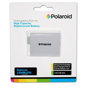 Polaroid Rechargeable Battery Canon LPE5 Replacement