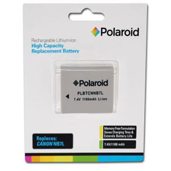 Polaroid Rechargeable Battery Canon NB7L Replacement