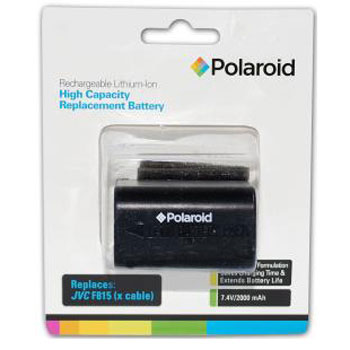 Polaroid High Capacity JVC F815 Lithium Replacement Battery