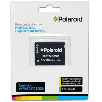 Polaroid Rechargeable Lithium Battery Replaces Panasonic BCG10