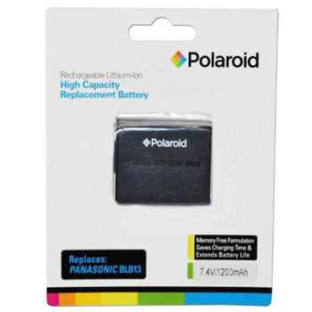 Polaroid Rechargeable Lithium Battery Replaces Panasonic BLB13
