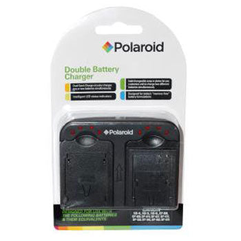Polaroid Dual Battery Charger for Canon LP-E5, NB-2L, NB-7L Batteries