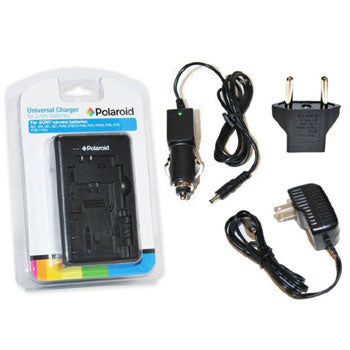 Polaroid Universal Battery Charger for Sony Camera Batteries