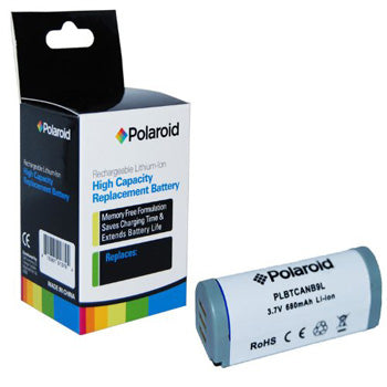 Polaroid High Capacity Canon NB9L Lithium Replacement Battery