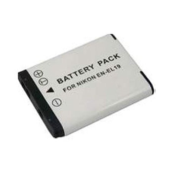 Polaroid High Capacity Nikon ENEL19 Lithium Replacement Battery