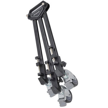 Polaroid Folding Tripod Dolly with Handle and Deluxe Carrying Case