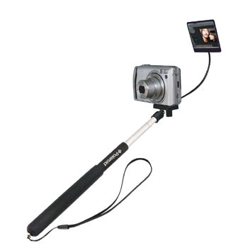 Polaroid Selfie Stick with Mirror - Extends to 37""