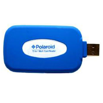 Polaroid Rubberized High Speed 72 In 1 Reader - Writer