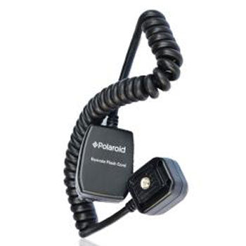 Polaroid 3' TTL Remote Flash Shoe Cord for Pentax Camera