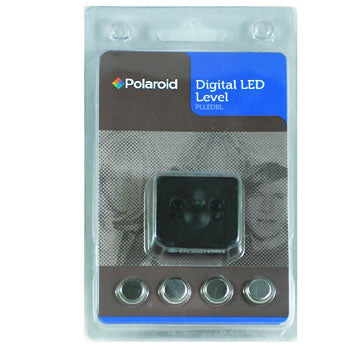 Polaroid Hot Shoe Digital LED Spirit Level for Cameras & Camcorders