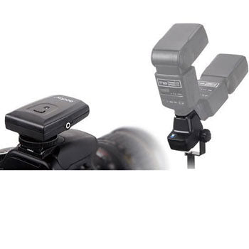 Polaroid Wireless 16 Channel Flash Trigger Set with Hot Shoe & Umbrella Mount