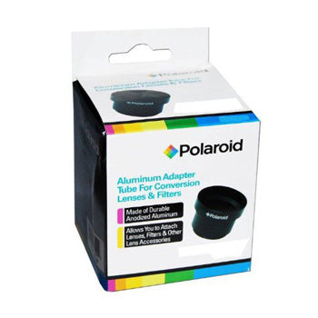 Polaroid 58mm Lens-Filter Adapter Tube for Canon Powershot G10 G11 G12