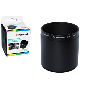 Polaroid 58mm Lens and Filter Adapter for Panasonic DMC-FZ100, FZ40